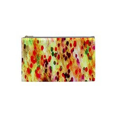 Background Color Pattern Abstract Cosmetic Bag (Small)