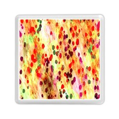 Background Color Pattern Abstract Memory Card Reader (Square)