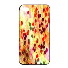 Background Color Pattern Abstract Apple iPhone 4/4s Seamless Case (Black)