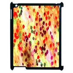 Background Color Pattern Abstract Apple Ipad 2 Case (black)