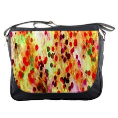 Background Color Pattern Abstract Messenger Bags