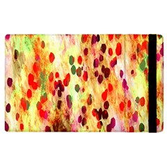 Background Color Pattern Abstract Apple iPad 2 Flip Case