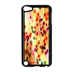 Background Color Pattern Abstract Apple iPod Touch 5 Case (Black)