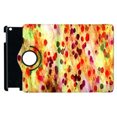 Background Color Pattern Abstract Apple iPad 3/4 Flip 360 Case