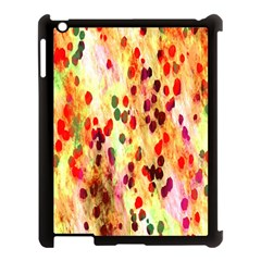 Background Color Pattern Abstract Apple iPad 3/4 Case (Black)