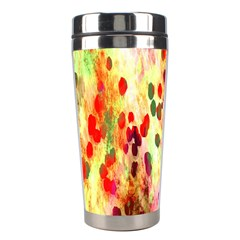 Background Color Pattern Abstract Stainless Steel Travel Tumblers