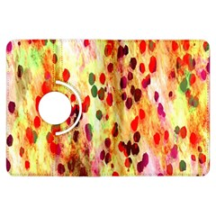Background Color Pattern Abstract Kindle Fire HDX Flip 360 Case