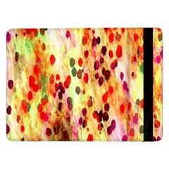 Background Color Pattern Abstract Samsung Galaxy Tab Pro 12.2  Flip Case