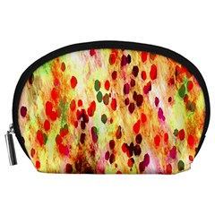 Background Color Pattern Abstract Accessory Pouches (Large)