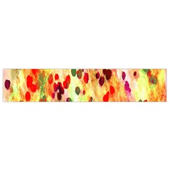Background Color Pattern Abstract Flano Scarf (Small)