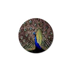 Multi Colored Peacock Golf Ball Marker (10 pack)