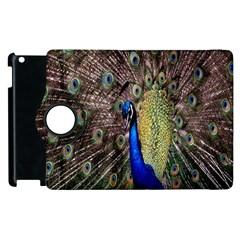Multi Colored Peacock Apple iPad 3/4 Flip 360 Case