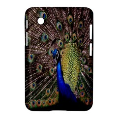 Multi Colored Peacock Samsung Galaxy Tab 2 (7 ) P3100 Hardshell Case