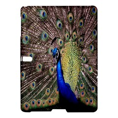 Multi Colored Peacock Samsung Galaxy Tab S (10.5 ) Hardshell Case