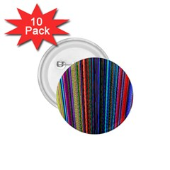 Multi Colored Lines 1 75  Buttons (10 Pack)