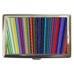 Multi Colored Lines Cigarette Money Cases