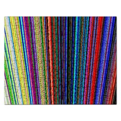 Multi Colored Lines Rectangular Jigsaw Puzzl