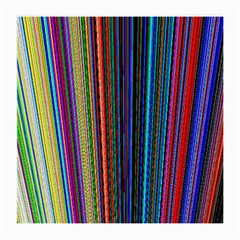 Multi Colored Lines Medium Glasses Cloth