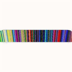 Multi Colored Lines Small Bar Mats