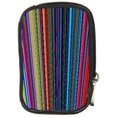 Multi Colored Lines Compact Camera Cases