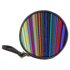 Multi Colored Lines Classic 20 Cd Wallets