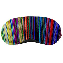 Multi Colored Lines Sleeping Masks