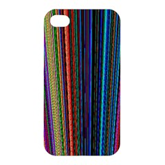 Multi Colored Lines Apple iPhone 4/4S Hardshell Case
