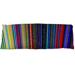 Multi Colored Lines Body Pillow Case (Dakimakura)