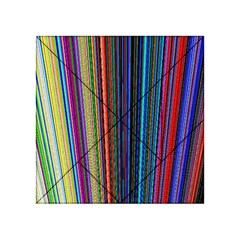 Multi Colored Lines Acrylic Tangram Puzzle (4  x 4 )
