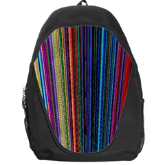 Multi Colored Lines Backpack Bag