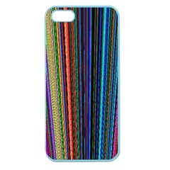 Multi Colored Lines Apple Seamless Iphone 5 Case (color)