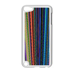 Multi Colored Lines Apple iPod Touch 5 Case (White)