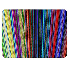 Multi Colored Lines Samsung Galaxy Tab 7  P1000 Flip Case