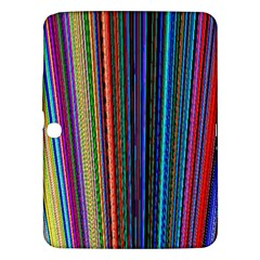 Multi Colored Lines Samsung Galaxy Tab 3 (10.1 ) P5200 Hardshell Case