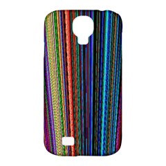 Multi Colored Lines Samsung Galaxy S4 Classic Hardshell Case (PC+Silicone)