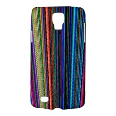 Multi Colored Lines Galaxy S4 Active