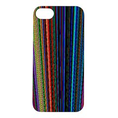 Multi Colored Lines Apple iPhone 5S/ SE Hardshell Case