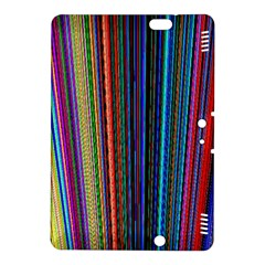 Multi Colored Lines Kindle Fire HDX 8.9  Hardshell Case