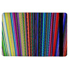 Multi Colored Lines iPad Air Flip