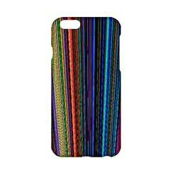 Multi Colored Lines Apple Iphone 6/6s Hardshell Case