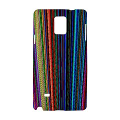 Multi Colored Lines Samsung Galaxy Note 4 Hardshell Case
