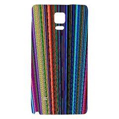 Multi Colored Lines Galaxy Note 4 Back Case