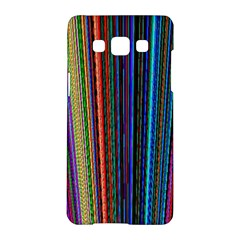 Multi Colored Lines Samsung Galaxy A5 Hardshell Case