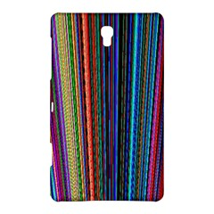 Multi Colored Lines Samsung Galaxy Tab S (8 4 ) Hardshell Case