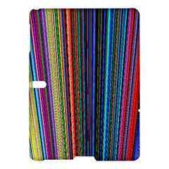 Multi Colored Lines Samsung Galaxy Tab S (10.5 ) Hardshell Case