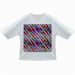 Multi Color Wave Abstract Pattern Infant/toddler T Shirts