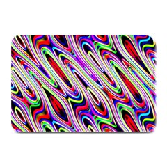 Multi Color Wave Abstract Pattern Plate Mats