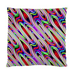 Multi Color Wave Abstract Pattern Standard Cushion Case (two Sides)