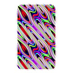 Multi Color Wave Abstract Pattern Memory Card Reader