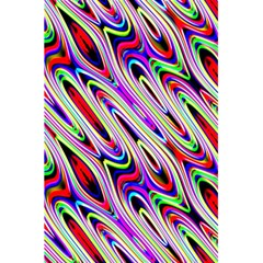 Multi Color Wave Abstract Pattern 5.5  x 8.5  Notebooks